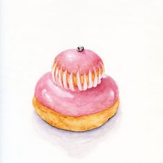 Pink Religieuse  ORIGINAL Painting  Colorful por ForestSpiritArt, £30.00