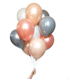 Custom balloons to coordinate with our collection of partyware. All available in our online shoppe!