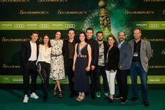 das Team von Smaragdgrün