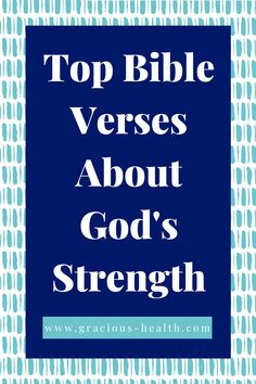 Read over these Bible verses to bereminded of God's strength and be encouraged by how amazing God is. Repin and read the free blog post on scriptures on God's strength.