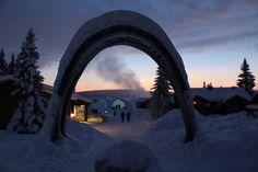 Let's travel the world!: The ICEHOTEL in Jukkasjärvi, Sweden!