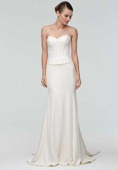 Watters Brides Ann Corset 9016B / Dune Skirt 8034B Mermaid Wedding Dress