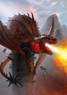 """Red Dragon"" by Christian Schob (Lothrean) 