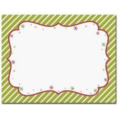 Peppermint Twist Printable Postcards – Sophie's Favors and Gifts