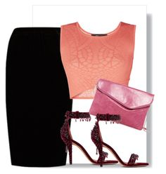 """..."" by gabriela-costa-carneiro ❤ liked on Polyvore featuring Jupe By Jackie, BCBGMAXAZRIA, Givenchy and HOBO"