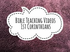 First Corinthians 14:27-30 Order re the use of gifts of prophecy and tongues - YouTube Bible Teachings, Essentials, God, Youtube, People, Easy, Dios, Allah, People Illustration