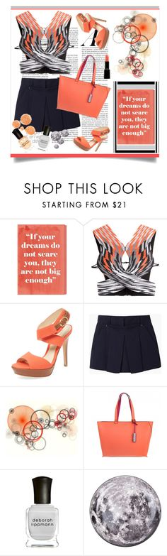 """""""More resort wear"""" by outfitsloveyou ❤ liked on Polyvore featuring Oliver Gal Artist Co., Alexander Wang, Alexandre Birman, Calvin Klein, Deborah Lippmann, Seletti and Giorgio Armani"""