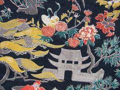 Asian bark cloth