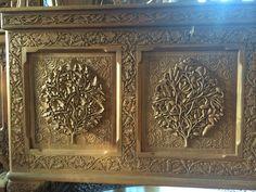 Loved this Kashmiri carved chest - 200,000+ Rs Sri Nagar, India