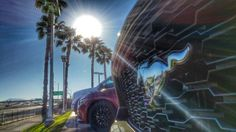 Ponys, palm trees and So Cal sun... It just doesn't get much better than this! #MustangInspires #SoCalLife ;)
