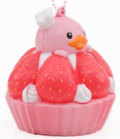 soft Sammy the Patissier sponge squishies charm, dessert Silly Squishies, Jumbo Squishies, Strawberry Tart, Kid Picks, 1980s Toys, Love Monster, Toys Shop, Cute Pink, Birthday Presents