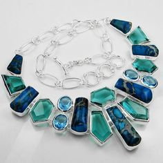 Fashion Jewelry Imperial Taper Gemstone Necklace
