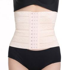 3860cb461e9 2018 Summer New L XL XXL Waist Diet Body Slim Shaper Postpartum Recovery  Corset