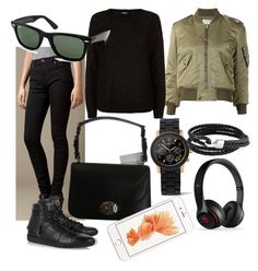 12 by domonkos-nagy-parragh on Polyvore featuring polyvore, fashion, style, DKNY, Yves Saint Laurent, Burberry, Christian Dior, Michael Kors, Bling Jewelry and Ray-Ban