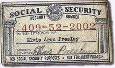 Elvis Social Security Number