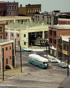 model streetcars | MODEL TRAIN PHOTOGRAPY