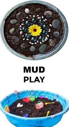 Tons of fun and creative ways for kids to play in the mud! #mudplayideas #mudactivitiesforpreschool #mudrecipeforkids #internationalmudday #growingajewelerose Sensory Bins, Sensory Play, Mud Recipe, Educational Activities For Kids, Kids Education, Crafts For Kids, Good Food, Creative, Desserts