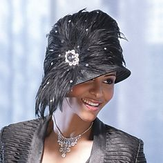 Now, that's a Sunday hat!