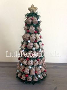 Wine Cork Christmas Tree Decoration