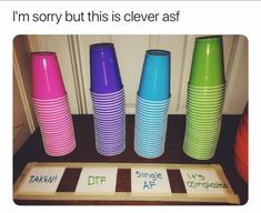 Tagged with the more you know, fun, party, user sub; This would be a cool party idea Teen Party Games, Teen Parties, College Party Games, Drinking Games For Parties, 18th Birthday Party, Best Part Of Me, Clever, Funny Pictures, Animal Pictures