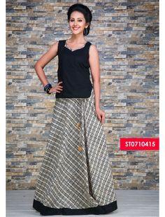 Skirt n Top - Women | Skirts | Pinterest | Traditional, Long skirt ...