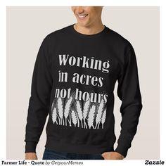 Farmer Life - ratio Sweatshirt - Outdoor Activity Long-Sleeve Sweatshirts By Talented Fashion & Graphic Designers - #sweatshirts #hoodies #mensfashion #apparel #shopping #bargain #sale #outfit #stylish #cool #graphicdesign #trendy #fashion #design #fashiondesign #designer #fashiondesigner #style