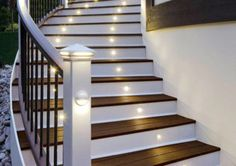 Creative ideas to light up your stairs.