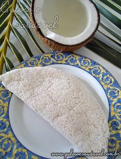 Receita de Tapioca de Coco