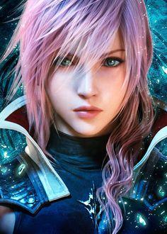 Lightning Returns: Final Fantasy XIII Ok, not manga, but still... Incredible graphics