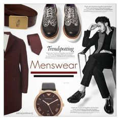 Menswear! #2 by petrapoly on Polyvore featuring polyvore Al Duca d'Aosta Emporio Armani Ralph Lauren Isaia Melissa men's fashion menswear clothing polyvorecommunity PolyvoreMostStylish
