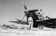 Spitfire Mk. Vc in Sicily — Historic Photographs | 1943 | Spitfire Mk. V