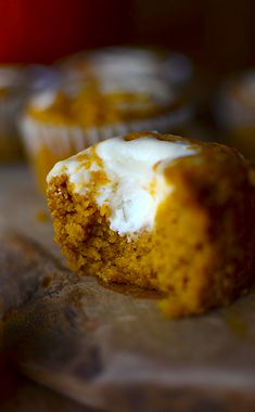 These cream cheese pumpkin muffins are SO MOIST. I will never make another pumpkin muffin again!