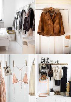 clothing as decor display / sfgirlbybay