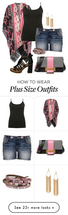 """""""Come fly away- plus size"""" by gchamama on Polyvore featuring Boohoo, M&Co, Prada and SAACHI Style"""