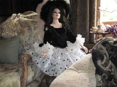 Porcelain doll 36""