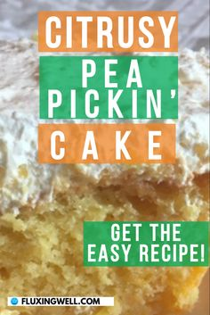 Easy Cake Recipe Pea Pickin' Cake is the best cake recipes I have ever made. This delicious cake has yellow cake mix with mandarin oranges in the batter and crushed pineapple in light, fluffy topping to make it one of the most yummy cakes ever. If you are looking for an Easter cake or a light cake for any special occasion, this moist cake will be a hit. Add this easy cake dessert to your Easter recipes and see how awesome this cake is. Perfect for spring parties, make this fluffy cake today! Easy Salad Recipes, Easy Salads, Easy Healthy Recipes, Easy Dinner Recipes, Easy Meals, Mandarin Oranges, Light Cakes, Cakes Today, Easter Cake
