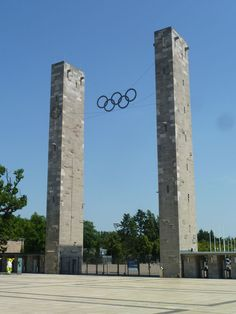 Entrance to the 1936 Berlin Olympic stadium