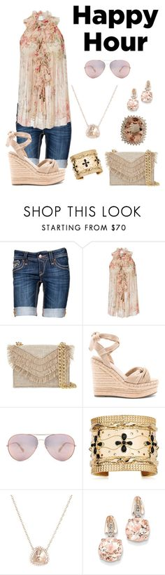 """Untitled #1118"" by mentalterrorist on Polyvore featuring Rock Revival, Zimmermann, Cynthia Rowley, Kendall + Kylie, Aurélie Bidermann, Luna Skye and BillyTheTree"
