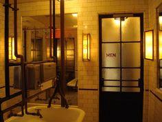 Schiller's Liquor Bar restroom | Flickr - Photo Sharing!