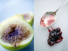 Fig Jam with Balsamic and Vanilla Rosewater and Thyme