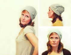 Twisted slouch hat... What to do with all the tshirts my boys keep staining new hats for me!