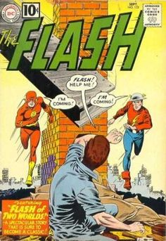 Flash #123 circa 1959 - classic and oh, so important