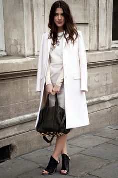 Classic / #white #black #style