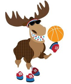 March Madness Basketball moose with braces! Love his Harlem Globetrotter outfit! Orthodontic Humor, Dental Humor, Dental Hygienist, Orthodontics Marketing, Brace Face, Dental Art, Dental Office Design, Dental Bridge, Sports Birthday