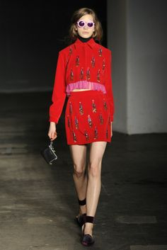 HOUSE OF HOLLAND LONDON FALL 2014 READY TO WEAR