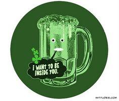 You lil man whooore beer...