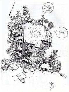 bassman5911:  Sketchbook: Mechanics 2. by Ian McQue (via Scotch...