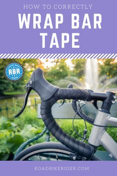 Learn how to wrap bicycle handlebar tape correctly. We take you through the steps. #cyclingtips #cyclingadvice #cyclingmyths #cyclingequipment #cycling #bicycling #bicycle #thecyclingbug