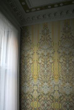 Timorous Beasties Wallcoverings - Marble Damask