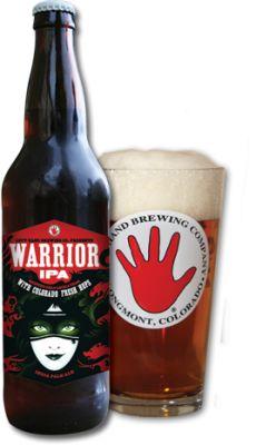 Left Hand Brewing - Warrior IPA